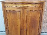 Старый Луис Филипп Угловой кабинет в грецком орехе - 19 век-11