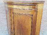 Antique Louis Philippe Corner Cabinet in walnut - 19th cent.-8