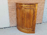 Antique Louis Philippe Corner Cabinet in walnut - 19th cent.-2