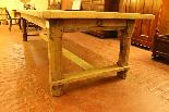 Table De Réfectoire En Chêne-1