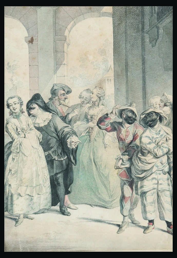 Итальянский (французский) Школа «Итальянский театр» 1730-50