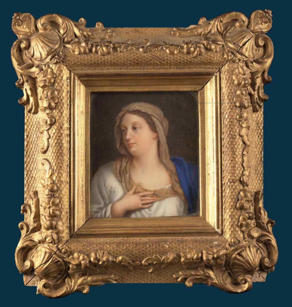 Ecole Française, La Bienheureuse Vierge Marie