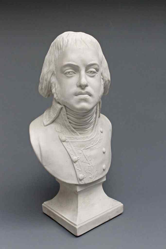 Porcellana di Sevres busto periodo Impero