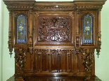 Antique Sideboard Buffet in walnut - 19th century-1