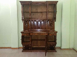 Antique Sideboard Buffet in walnut - 19th century-3