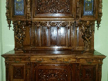 Antique Sideboard Buffet in walnut - 19th century-5