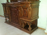 Antique Sideboard Buffet in walnut - 19th century-8