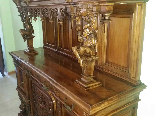 Antique Sideboard Buffet in walnut - 19th century-9