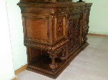 Antique Sideboard Buffet in walnut - 19th century-13
