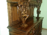 Antique Sideboard Buffet in walnut - 19th century-16
