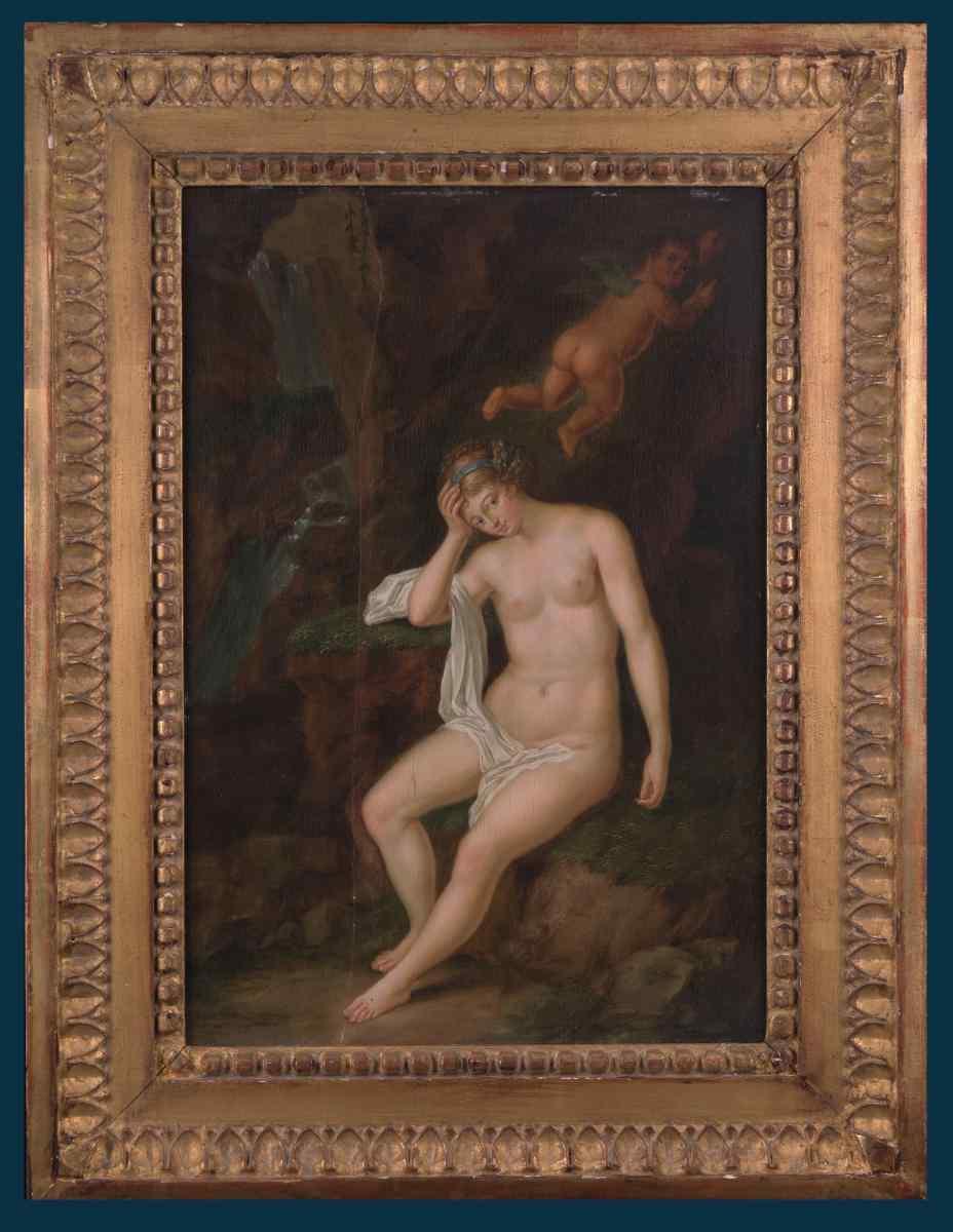 Гуттенбрунн (Attrib.) «Портрет неизвестной в виде Венеры»
