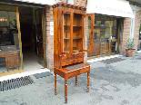 Antico Scrittoio Libreria Luigi Filippo in noce 19° secolo-11
