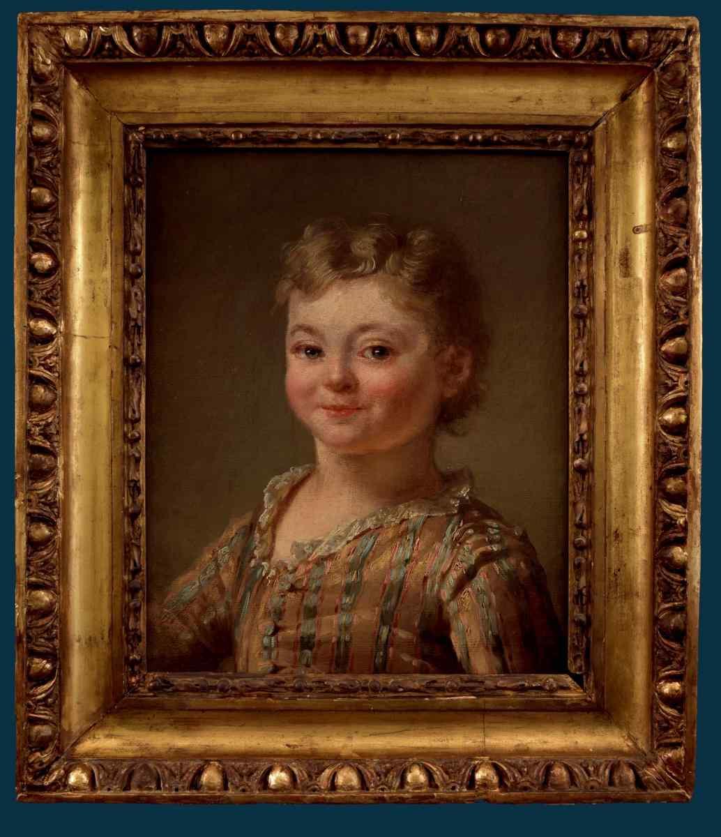 Nicolas B. Lépicié (Attrib.) Portrait d'un garçon