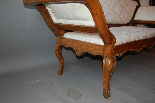 18th century walnut sofa-1