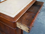 Antique writing Table Desk in walnut - Italy 19th-11