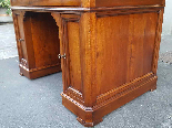 Antique writing Table Desk in walnut - Italy 19th-14