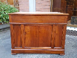 Antique writing Table Desk in walnut - Italy 19th-7