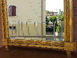 Античный позолоченный зеркало Наполеона III - 19 век-4