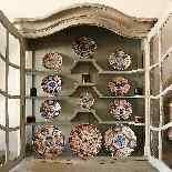 Buffet Deux Corps Peint Galbé 19ème siècle-1