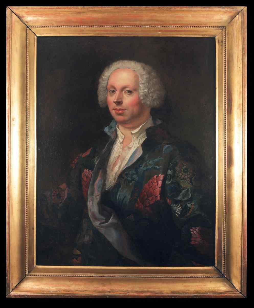 S. Ceccarini, Portrait du chanteur castrato Domenico Annibal