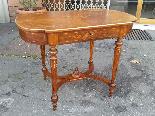 Antico Tavolino Scrittoio Napoleone III intarsiato - XIX sec-12