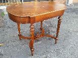 Antique Napoleon III  Table desk inlaid - 19th-11