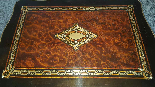 Antique Napoleon III small Table Bedside inlaid-19th century-15