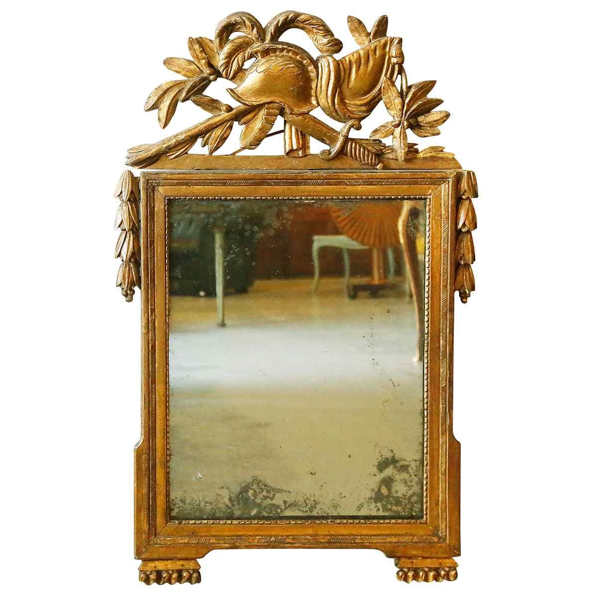 Революционное зеркало XVIII