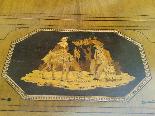 Antico Tavolino intarsiato - Italia XIX secolo-11
