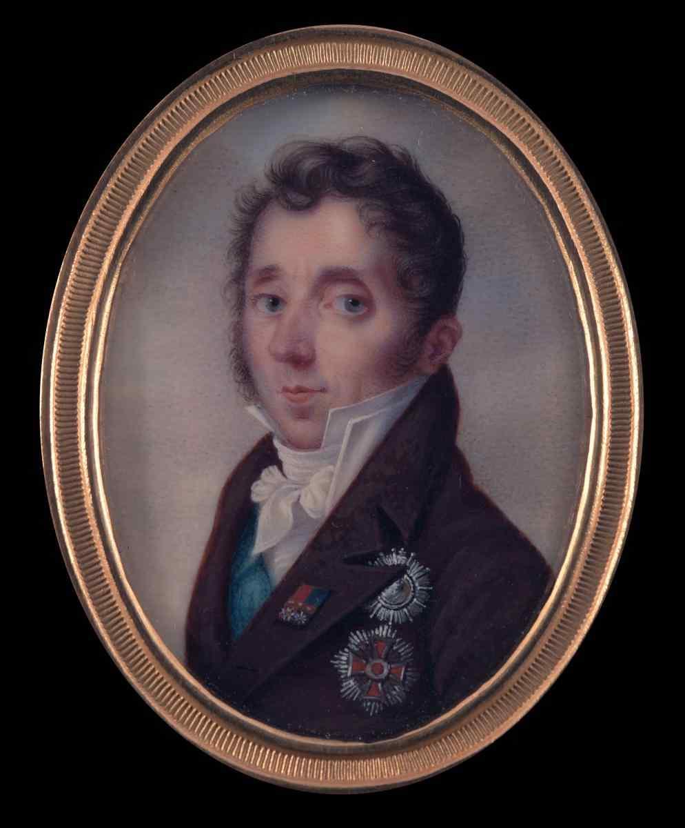 Hummel de Bourdon (Attrib.), Portrait du Duc de Teschen