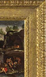 Giovanni Francesco Grimaldi, Paysage avec Adam et Eve-3
