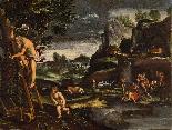 Giovanni Francesco Grimaldi, Landscape with Adam and Eve-2