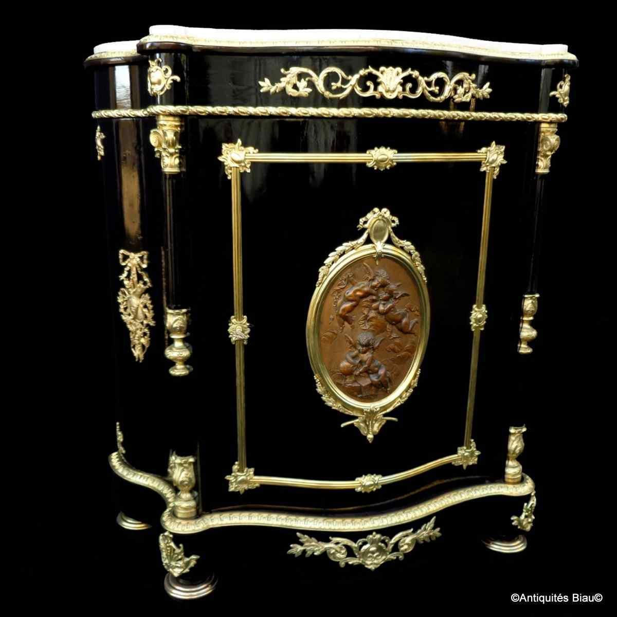 Поддержка Мебель Буль Наполеон III штампованных Diehl