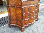 Antique Bookcase Bureau in walnut - Italy 19th century-15