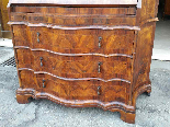 Antique Bookcase Bureau in walnut - Italy 19th century-16