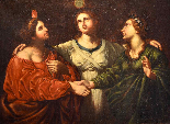 Les trois vertus théologales, Antiveduto Gramatica (1571 - 1-0