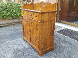 Antique Louis Philippe Sideboard Buffet in walnut - 19th-4