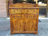 Antique Louis Philippe Sideboard Buffet in walnut - 19th-2