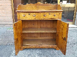 Antique Louis Philippe Sideboard Buffet in walnut - 19th-6