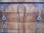 Антикварный комод Императорский комод в грецком орехе - 19 век-9