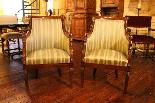 Pair Of Mahogany Empire Armchairs-1
