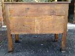 Antique Commode Chest of drawers in walnut - Italy 19th cent-15