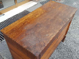Antique Empire Commode Chest of drawers in walnut-Italy 19th-7