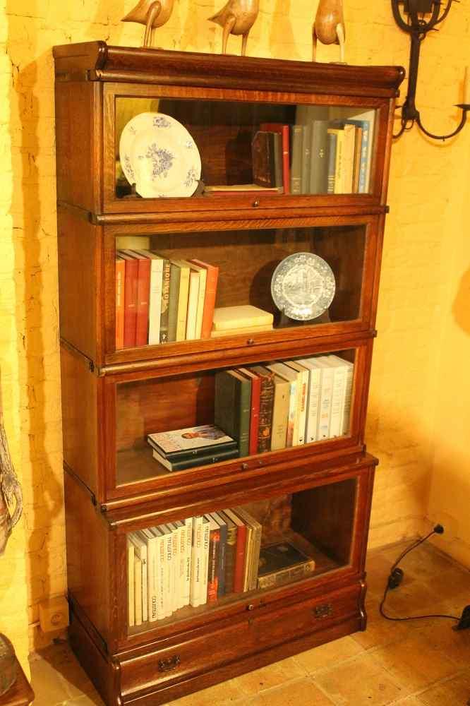 Grande Calza Globe Wernicke Libreria Libreria Oak