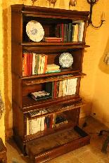 Grande Calza Globe Wernicke Libreria Libreria Oak-1