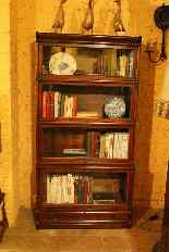 Grande Calza Globe Wernicke Libreria Libreria Oak-2