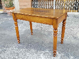 Antique Louis Philippe Table desk in walnut - Italy 19th-8