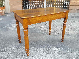 Antique Louis Philippe Table desk in walnut - Italy 19th-7