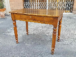 Antique Louis Philippe Table desk in walnut - Italy 19th-1