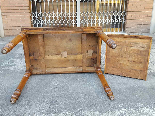 Antique Louis Philippe Table desk in walnut - Italy 19th-11